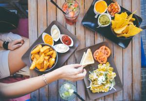 craving food,